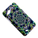 Power Spiral Polygon Blue Green White HTC Desire VC (T328D) Hardshell Case View5