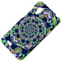 Power Spiral Polygon Blue Green White HTC Desire VT (T328T) Hardshell Case View4