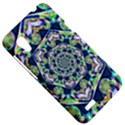 Power Spiral Polygon Blue Green White HTC Desire VT (T328T) Hardshell Case View5