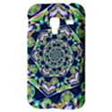 Power Spiral Polygon Blue Green White Samsung Galaxy Ace Plus S7500 Hardshell Case View3