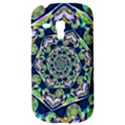 Power Spiral Polygon Blue Green White Samsung Galaxy S3 MINI I8190 Hardshell Case View3
