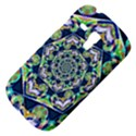 Power Spiral Polygon Blue Green White Samsung Galaxy S3 MINI I8190 Hardshell Case View4