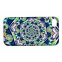 Power Spiral Polygon Blue Green White Apple iPhone 4/4S Hardshell Case with Stand View1