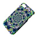 Power Spiral Polygon Blue Green White Apple iPhone 4/4S Hardshell Case with Stand View4