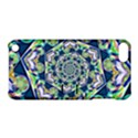 Power Spiral Polygon Blue Green White Apple iPod Touch 5 Hardshell Case with Stand View1