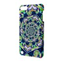 Power Spiral Polygon Blue Green White Apple iPod Touch 5 Hardshell Case with Stand View3