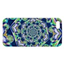 Power Spiral Polygon Blue Green White Apple iPhone 5 Premium Hardshell Case View1