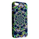Power Spiral Polygon Blue Green White Apple iPhone 5 Premium Hardshell Case View2