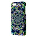 Power Spiral Polygon Blue Green White Apple iPhone 5 Premium Hardshell Case View3
