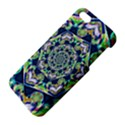 Power Spiral Polygon Blue Green White Apple iPhone 5 Premium Hardshell Case View4