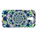 Power Spiral Polygon Blue Green White Samsung Galaxy S4 I9500/I9505 Hardshell Case View1