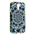 Power Spiral Polygon Blue Green White Samsung Galaxy S4 I9500/I9505 Hardshell Case View2