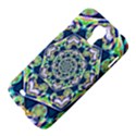 Power Spiral Polygon Blue Green White Samsung Galaxy S4 I9500/I9505 Hardshell Case View4