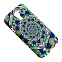 Power Spiral Polygon Blue Green White Samsung Galaxy S4 I9500/I9505 Hardshell Case View5