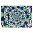 Power Spiral Polygon Blue Green White Samsung Galaxy Tab 10.1  P7500 Flip Case View1