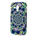 Power Spiral Polygon Blue Green White Samsung Galaxy Duos I8262 Hardshell Case  View3