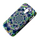 Power Spiral Polygon Blue Green White Samsung Galaxy Duos I8262 Hardshell Case  View4