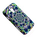 Power Spiral Polygon Blue Green White Samsung Galaxy Duos I8262 Hardshell Case  View5