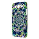 Power Spiral Polygon Blue Green White Samsung Galaxy Mega 5.8 I9152 Hardshell Case  View3