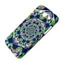 Power Spiral Polygon Blue Green White Samsung Galaxy Mega 5.8 I9152 Hardshell Case  View4