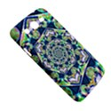 Power Spiral Polygon Blue Green White Samsung Galaxy Mega 5.8 I9152 Hardshell Case  View5
