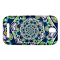 Power Spiral Polygon Blue Green White HTC One SV Hardshell Case View1