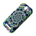 Power Spiral Polygon Blue Green White HTC One SV Hardshell Case View4