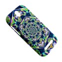 Power Spiral Polygon Blue Green White HTC One SV Hardshell Case View5