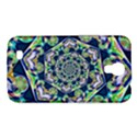 Power Spiral Polygon Blue Green White Samsung Galaxy Mega 6.3  I9200 Hardshell Case View1
