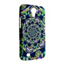 Power Spiral Polygon Blue Green White Samsung Galaxy Mega 6.3  I9200 Hardshell Case View2