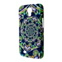 Power Spiral Polygon Blue Green White Samsung Galaxy Mega 6.3  I9200 Hardshell Case View3