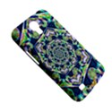 Power Spiral Polygon Blue Green White Samsung Galaxy Mega 6.3  I9200 Hardshell Case View5