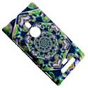 Power Spiral Polygon Blue Green White Nokia Lumia 925 View5