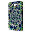 Power Spiral Polygon Blue Green White Samsung Galaxy Tab 3 (7 ) P3200 Hardshell Case  View3