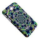 Power Spiral Polygon Blue Green White Samsung Galaxy Tab 3 (7 ) P3200 Hardshell Case  View5