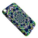Power Spiral Polygon Blue Green White Samsung Galaxy Tab 3 (8 ) T3100 Hardshell Case  View5