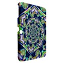 Power Spiral Polygon Blue Green White Samsung Galaxy Tab 3 (10.1 ) P5200 Hardshell Case  View2