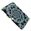 Power Spiral Polygon Blue Green White Samsung Galaxy Tab 3 (10.1 ) P5200 Hardshell Case  View5