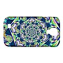Power Spiral Polygon Blue Green White Samsung Galaxy S4 Classic Hardshell Case (PC+Silicone) View1
