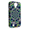 Power Spiral Polygon Blue Green White Samsung Galaxy S4 Classic Hardshell Case (PC+Silicone) View2
