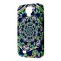Power Spiral Polygon Blue Green White Samsung Galaxy S4 Classic Hardshell Case (PC+Silicone) View3