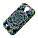 Power Spiral Polygon Blue Green White Samsung Galaxy S4 Classic Hardshell Case (PC+Silicone) View4