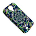 Power Spiral Polygon Blue Green White Samsung Galaxy S4 Classic Hardshell Case (PC+Silicone) View5