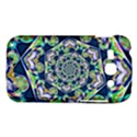 Power Spiral Polygon Blue Green White Samsung Galaxy Ace 3 S7272 Hardshell Case View1