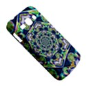 Power Spiral Polygon Blue Green White Samsung Galaxy Ace 3 S7272 Hardshell Case View5
