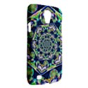 Power Spiral Polygon Blue Green White Galaxy S4 Active View2