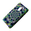 Power Spiral Polygon Blue Green White Nokia Lumia 620 View4