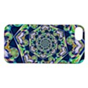 Power Spiral Polygon Blue Green White Apple iPhone 5S/ SE Hardshell Case View1