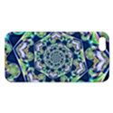 Power Spiral Polygon Blue Green White iPhone 5S/ SE Premium Hardshell Case View1
