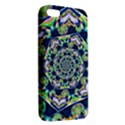 Power Spiral Polygon Blue Green White iPhone 5S/ SE Premium Hardshell Case View2